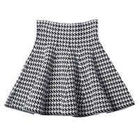 2019 nouvelle Version coréenne des femmes plissée jupe parapluie jupe taille haute bas tricoté jupe automne a-ligne jupe