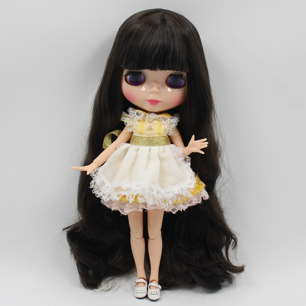 Neo Blythe Doll Yellow Apron Suit 1