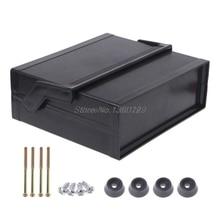 Водонепроницаемый пластиковый электронный корпус проект коробка черный 200x175x70 мм и Прямая поставка