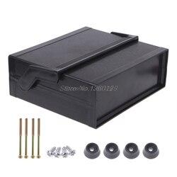 Caixa eletrônica plástica impermeável do projeto do cerco preto 200x175x70mm atacado & dropship