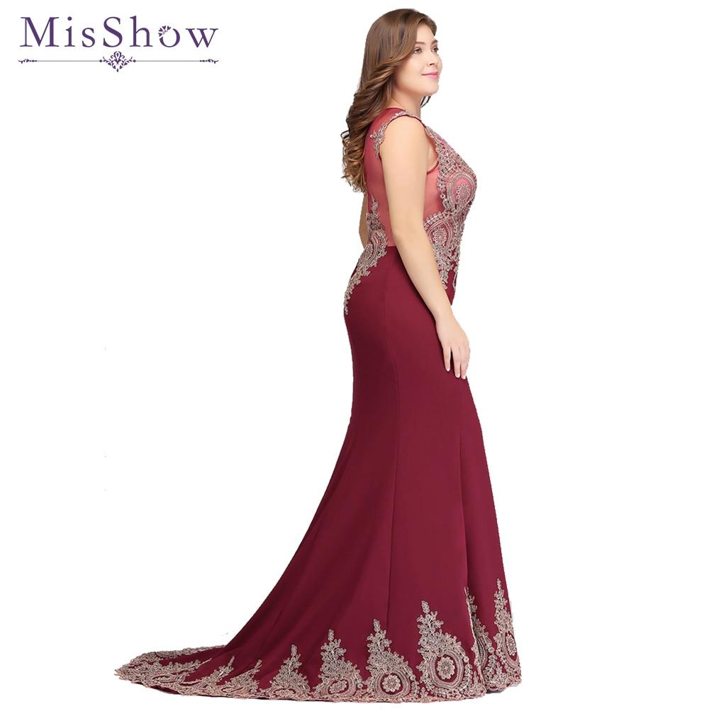 vestidos de festa Long Mother of the Bride   Dresses   Plus size   Evening     Dress   2019 Burgundy Party Formal Gown   Dresses   mermaid   dress