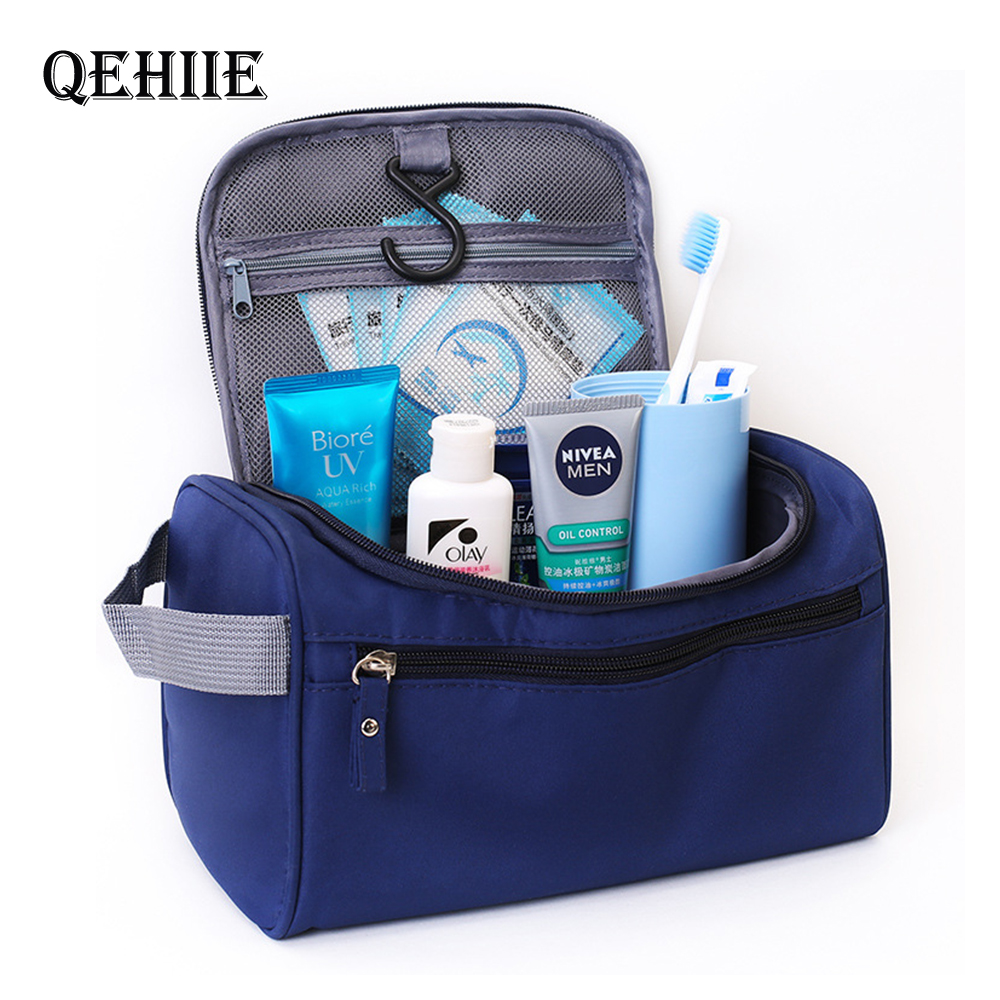 Women's Travel Toiletry Make Up Bag Waterproof Camouflage Cosmetic Pouch Men's Wash organizer Requirement Cosmetics Toilet Bags