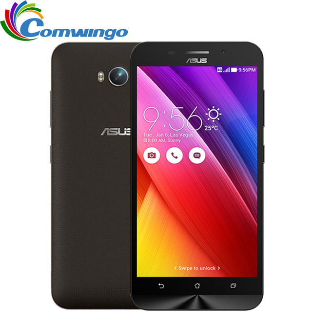 Original ASUS Zenfone MAX zc550kl 5.5 inch MSM8916 quad core 1.2GHz  2G  32G Android 5.0 5000mah battery phone