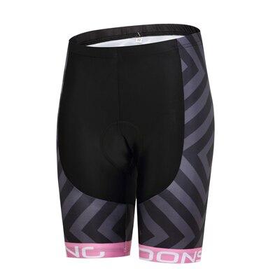 Шорты для велосипедистов MTB Женская профессиональная одежда для велоспорта Женская Спортивная одежда для спорта на открытом воздухе дышащие велосипедные шорты с вкладышами гель - Цвет: DS004WS