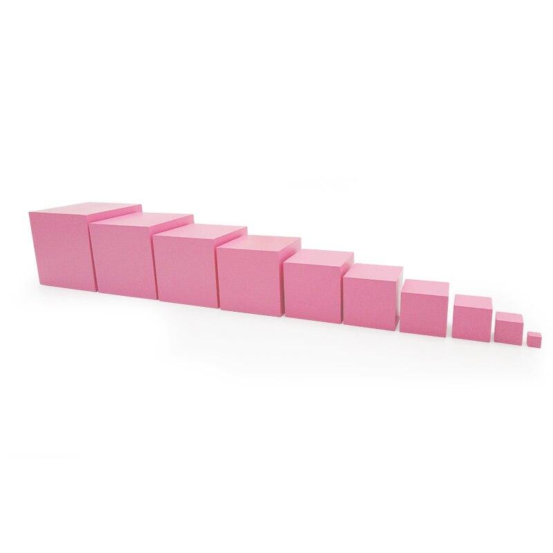 монтессори розовая башня фото картинки
