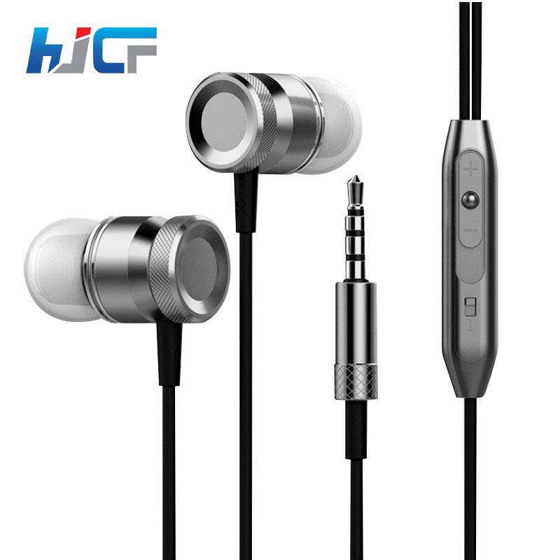 Fashion HJCF 3.5mm Jack Wired Earphone In Ear Earbuds Universal For Mobile Phones Computers MP3 MP4 player C7