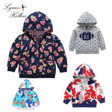 Baby Infant Coat Jacket Children Clothing Boys Girls Hooded Kids Cloths Warm Outerwear Long Sleeve Cotton 0-3 Years Play Mats(China)