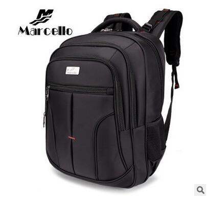 ФОТО MARCELLO Men's laptop backpack  Multifunction Unisex Travel Women Mochilas 15.6 Inch Notebook Backpack Men's Knapsacks For Sale