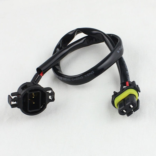 9006 to 5202 h16 extension wire harness converter socket connector rh aliexpress com