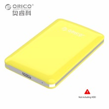 ORICO Tool Free HDD/SSD USB 3.0 to SATA 2.5 Inch 5GBPS Ide External Hard Disk Drive Enclosure Case 2TB 9.5mm (Not including HDD)