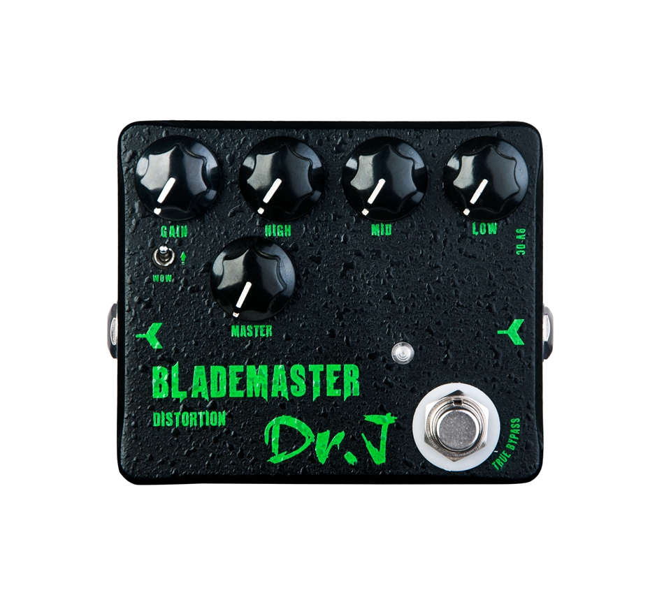 Joyo High Quality Electric Guitar Effect Pedal Dr.J D-58 Blademaster Distortion High-gain True Bypass Guitar Accessories abt 3 black teeth vintage distortion guitar effect pedal aroma mini size pedals with true bypass guitar accessories
