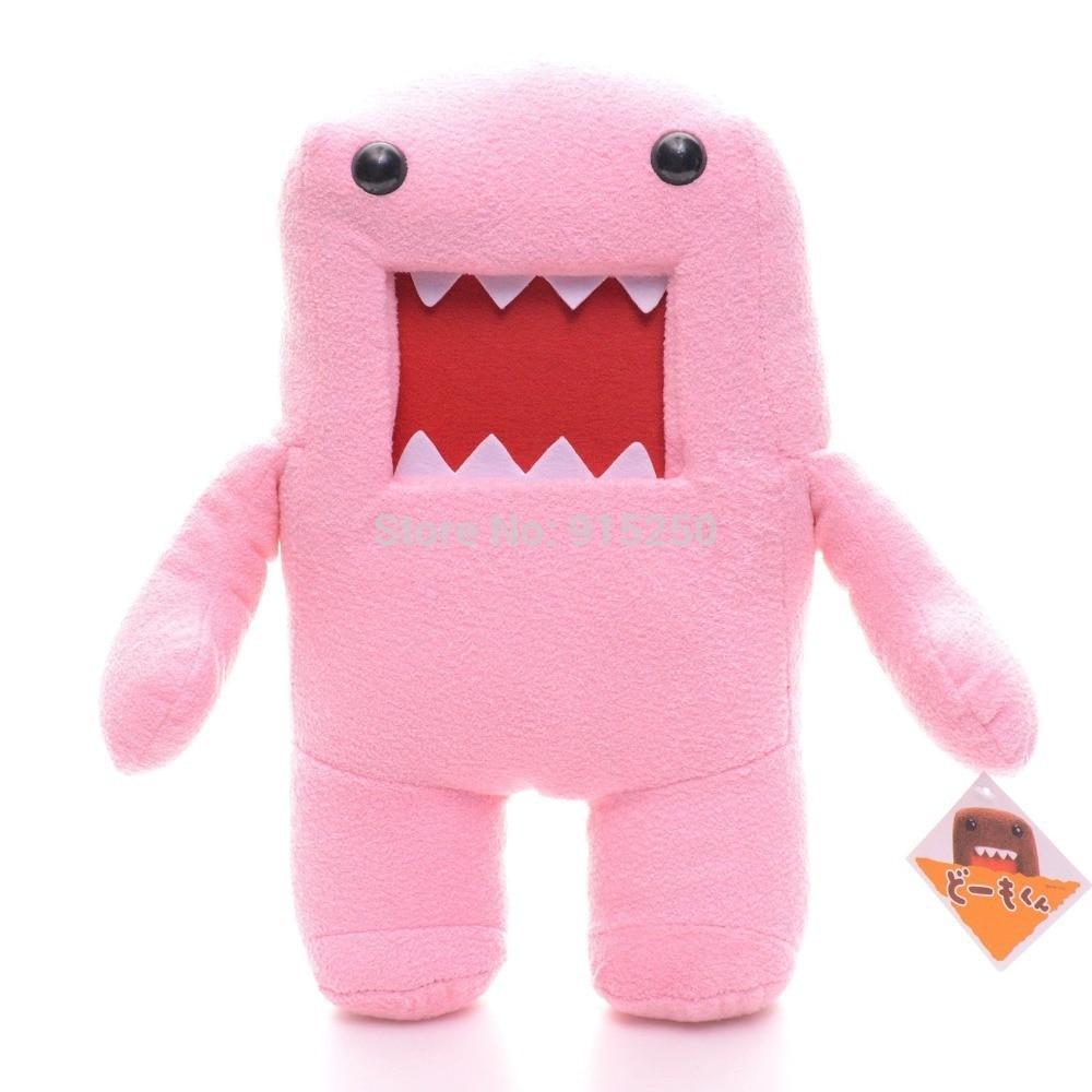 Aranyos töltött játékok Japán Pink Domo Doll plüss DOMO KUN karakter plüss pamut játék 7 '' új #LNF