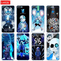 Silicone Cover phone Case for Huawei Honor 10 V10 3c 4C 5c 5x 4A 6A 6C pro 6X 7X 6 7 8 9 LITE undertale papyrus sans doggo