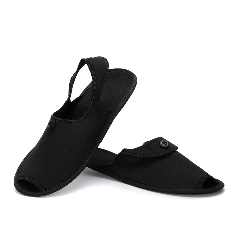 Shoes Men Travel Breathable Indoor Slippers Couple Shoes Business Trip Folding Mules Lightly Anti-skid Fashion Hotel Shoes