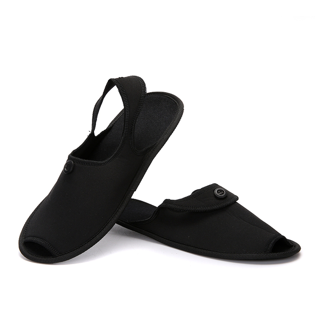 e08ad6798a1 Shoes Men Travel Breathable Indoor Slippers Couple Shoes Business Trip  Folding Mules Lightly Anti-skid Fashion Hotel Shoes