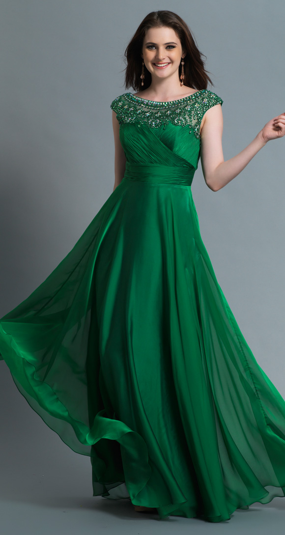 Popular Long Lime Green Prom Dresses-Buy Cheap Long Lime Green ...
