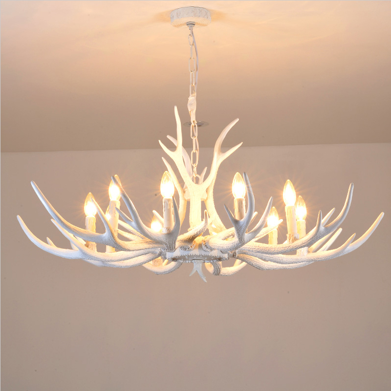 white antler chandelier - Antler Chandelier
