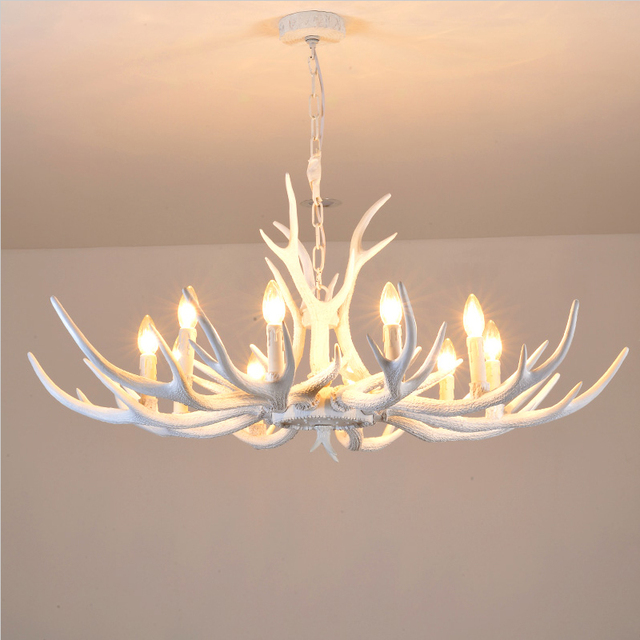 Brand new Modern white Antler Chandelier Novelty Lustre light for Dining  SP54