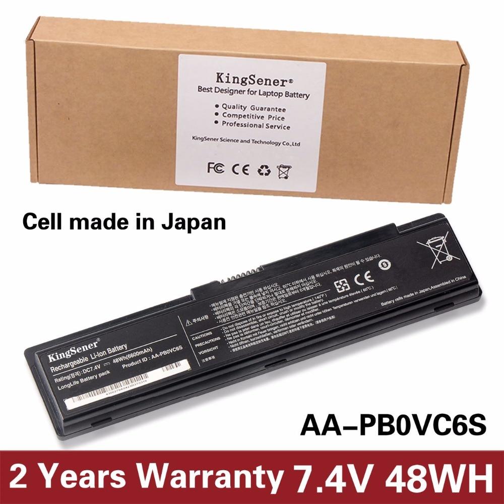 KingSener AA-PB0VC6S batterie d'ordinateur portable pour SAMSUNG N308 N310 N311 N315 NC310 X118 X120 X170 X171 AA-PB0VC6B AA-PB0VC6V 7.4 V 6600 mAh
