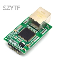 Two Serial To Ethernet Module TTL Serial To Ethernet Port RJ45 SCM Networking Modules 232 TCP