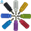 OPHIR 8pcs PRO Chromatic Color Aluminum Tattoo Grips Set For Tattoo Machine Gun TA056