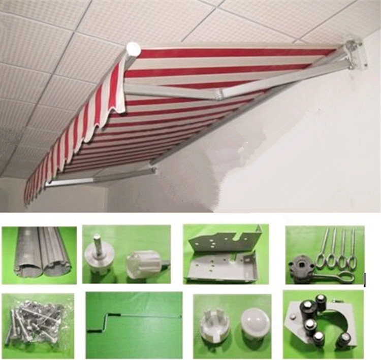 2*1.5M Telescopic sheds Outdoor Gazebos Waterproof Folding canopy Manual remote parking shed esspero canopy
