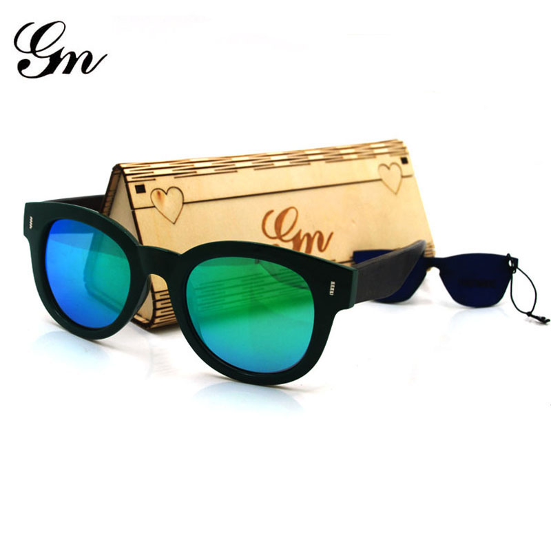 G M Bamboo And Wood Polarizing Glasses, Hand-Made Sunglasses Decorative Glasses