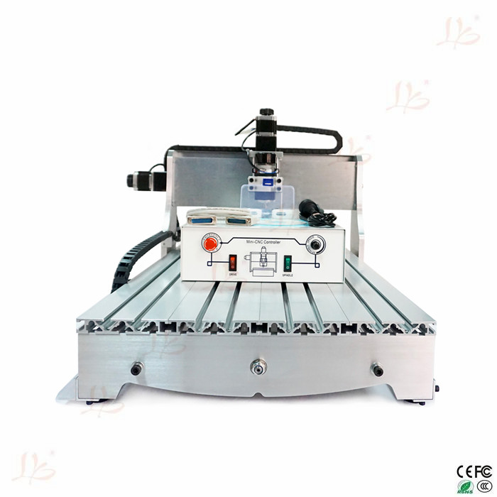 cnc lathe machine 6040Z D 300W spindle 3 or 4axis wood cnc machine free tax to Europe