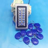 NEW IP68 Waterproof RFID/EM Keypad Proximity Door Access Control System Metal Access Control Door Opener silicone keypad