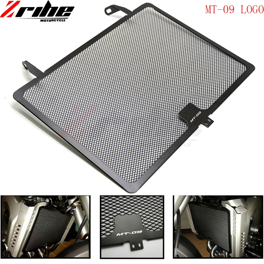 mt-09 Motorcycle Aluminum For Yamaha MT-09 MT09 13-15 TRACER 900 XSR900 FZ09 FJ09 16 17 Radiator Guard Grille Oil Cooler Cover