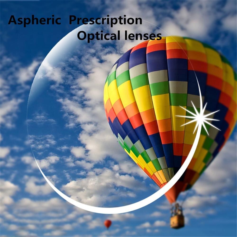 Haute qualité 1.71 index Prescription lentilles optiques HMC, EMI asphère anti UV myopie hyperopie lentilles de Prescription, 2 pièces
