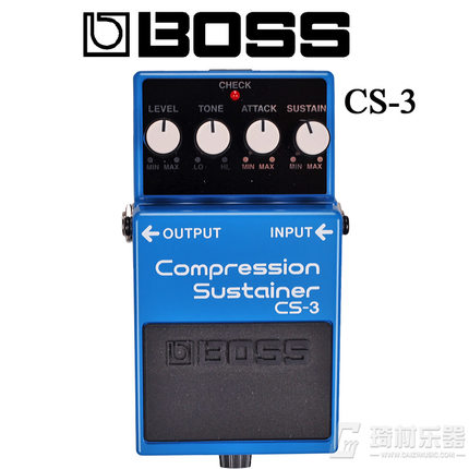 Boss Audio CS-3 Compression Sustainer Pedal for Guitar boss cs 3