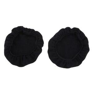 Image 1 - Couvre casque en tissu extensible oreillette oreillette casque universel hygiène et housses de protection pour écouteurs 9 ~ 11cm