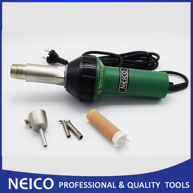 Free Shipping 110V Or 230V 1600W Vinyl Plastic Floor Hot Air Welding Gun With Triac S