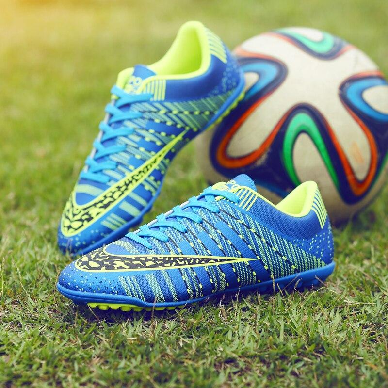 a0e1a99339 Indoor Superfly Breathable Chuteira Futebol Cheap Men Soccer Shoes Original  TF Kids Football ...