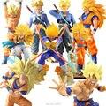 Anime Dragon Ball Z Super Saiyan Goku PVC Figura de Acción de DragonBall Vegeta Trunks Modelo Juguetes