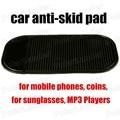 Автомобиль черный небуксующий колодки держит объекты на приборной панели мини-доказательства коврик безопасный мобильных телефонов монеты солнцезащитные очки mp3-плееры