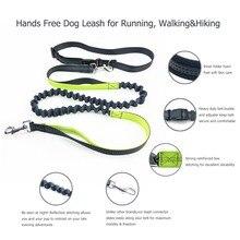 Elastic Waist Dog Leash For Jogging Walking