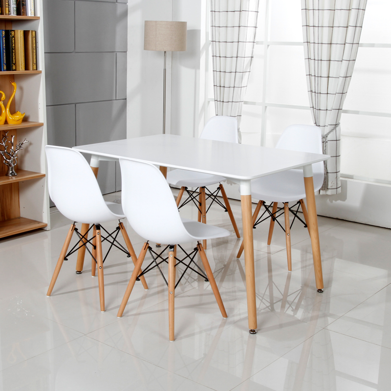 El nuevo escritorio Eames mesas de comedor Ikea Nordic ocio mesas de ...