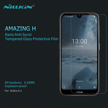Screen Protector For Nokia 4.2 Tempered Glass NILLKIN Amazing H 0.33mm Anti-Explosion Glass Film For Nokia 4.2 Screen Protector nillkin защитное стекло anti explosion glass screen h закругл края для nexus 6