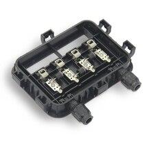 1 шт. 180 Вт-240 Вт PV солнечная распределительная коробка водонепроницаемый IP65 для солнечной системы