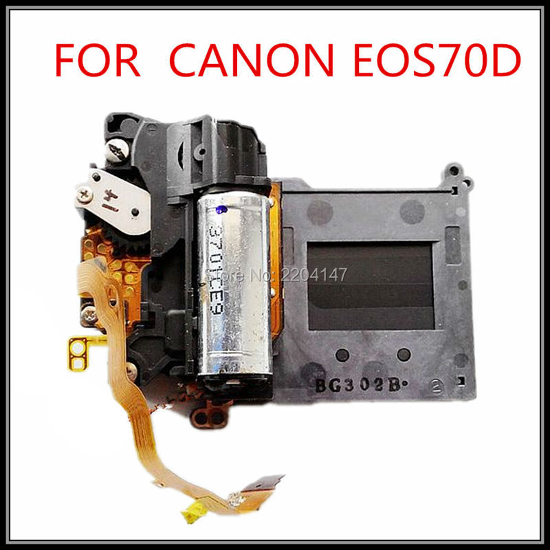 100% original SLR digital camera repair and replacement parts EOS 70D Shutter Group for Canon|camera repair|eos 70d|for canon - title=