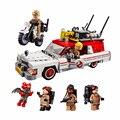 BELA 16032 Звездные войны Ghostbuster Ecto-1 и 2 бойцов призрак автомобиля строительные блоки Набор кубиков совместимые Legoe 75828 Playmobil игрушки
