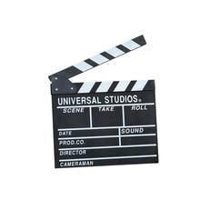 31*28 20*18 cm Big size Director Video Scene Clapperboard TV Movie Clapper Board Film Slate Cut Prop background Home decoration