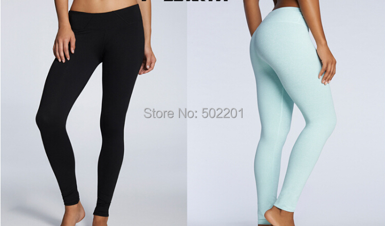 f536abbc38cc8c New arrival Solid color light blue Running pants legging Spandex pant  Fashion designer Lycra Legging 120 pcs/lot on Aliexpress.com | Alibaba Group