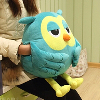 Super cute 1pc 50cm cartoon The Heirs funny owl plush doll pillow cushion decoration stuffed toy creative children baby gift