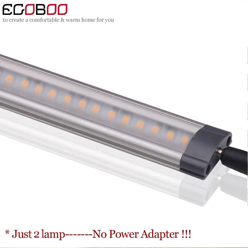 2pcs lot 12v DC 500mm long 5W font b LED b font Linear silver white