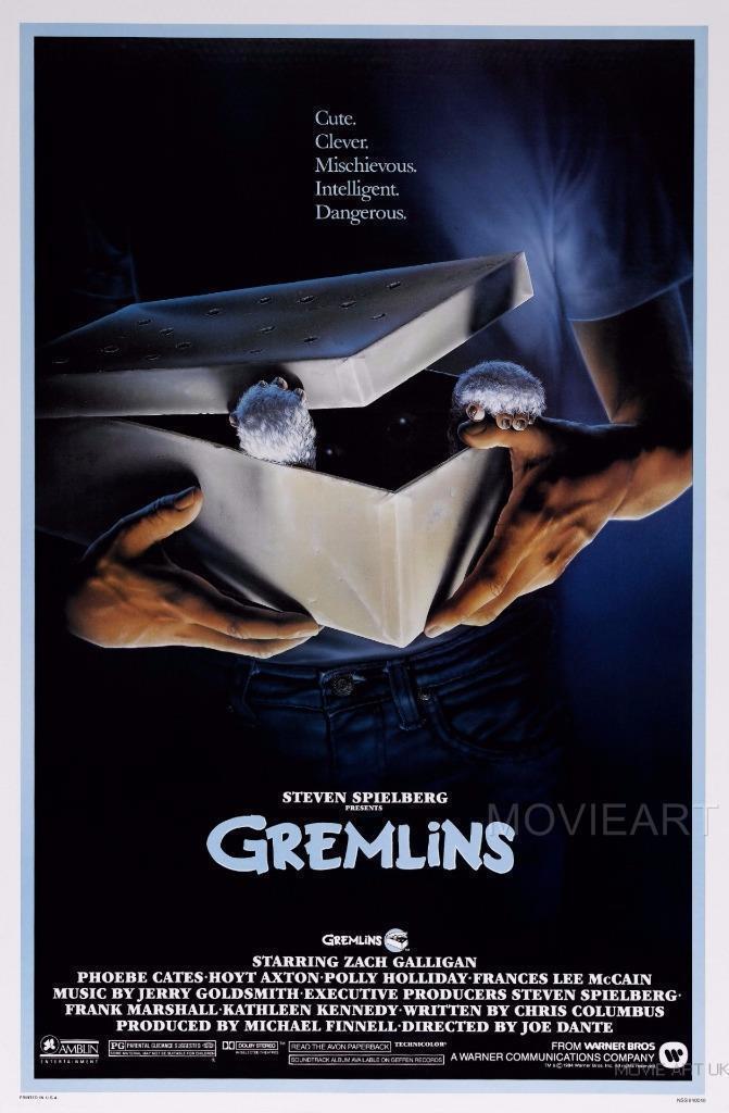 GREMLINS CLASSIC MOVIE Art Silk Poster 12x18 24x36