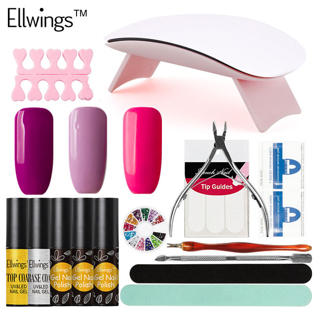 Nail Polish Kit With Dryer - Creative Touch