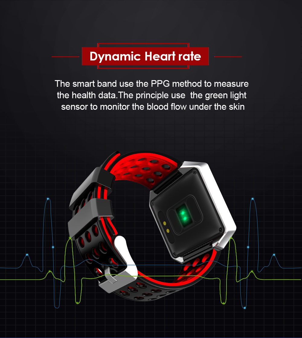 MOCRUX CK12 Smartwatch IP67 Waterproof Wearable Device Bluetooth Pedometer Heart Rate Monitor Smart Watch For AndroidIOS (9)